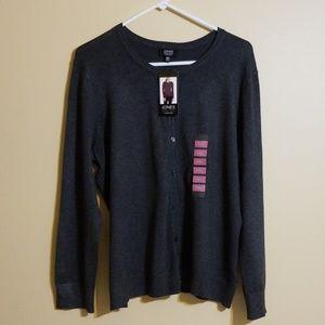 Jones New York Signature Cardigan Sweater